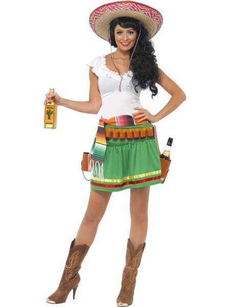 83fd6876ed87 Vtipný kostým tequila barmanky z naší půjčovny bude poutat pozornost na  každé Vaší párty!