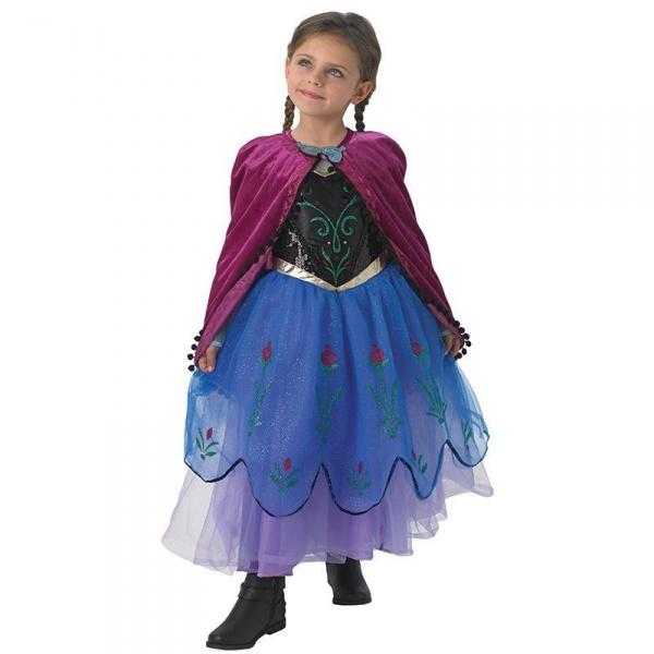 8f8fec18d108 Dětský kostým Anna - Frozen superdeluxe - Půjčovna kostýmů Praha